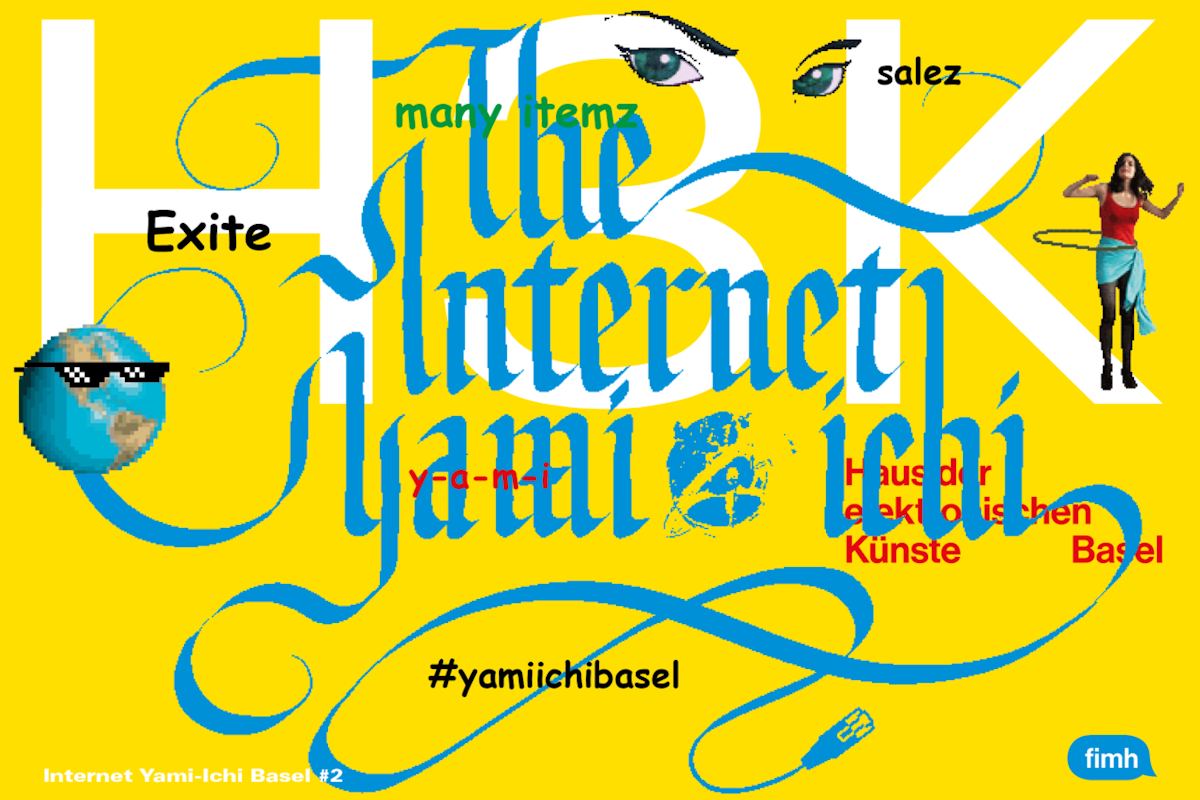 Colliding Lines at Internet Yami-Ichi | BASEL